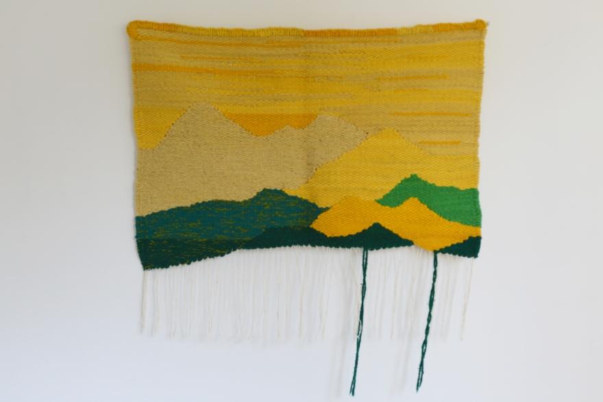 Montañas sin terminar, Amarillo de Rodrigo González Castellanos