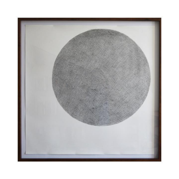 Círculo negro de Rodrigo González Castellanos