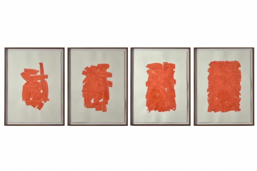 Estudios de desgaste, 100, 50, 75, 25 y 12, de Rodrigo González Castellanos