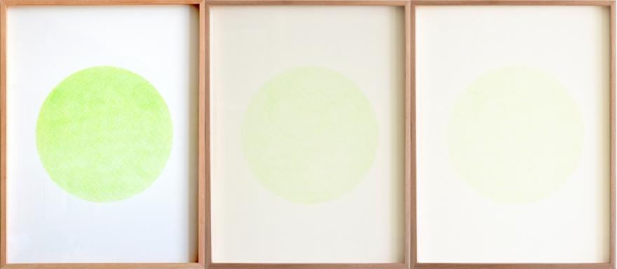 Estudio de desgaste, Verde Claro de Ronzález Castellanos