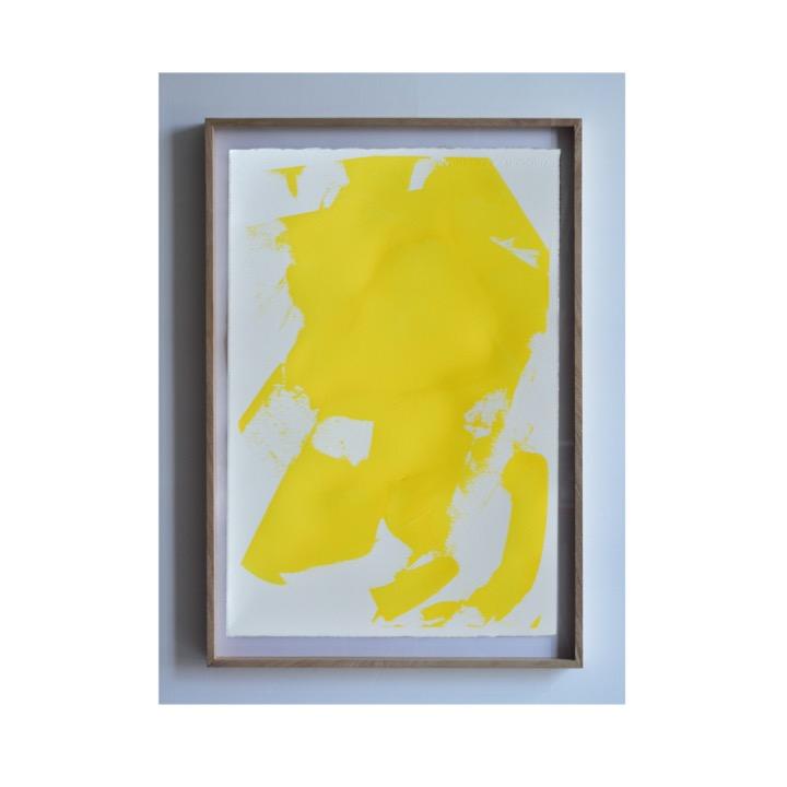 Estudio de desgaste sobre bóveda, Amarillo I de Rodrigo González Castellanos