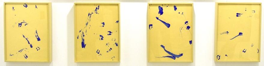 Pisadas de borrego, Azul Klein I-IV de Rodrigo González Castellanos
