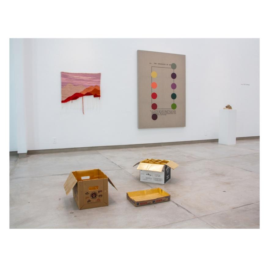 Obra de Rodrigo González Castellanos en la exposición DIY Fiction