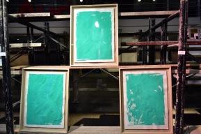 Obra de Rodrigo González Castellanos para el verde Lyme Artshow en Audi Patria