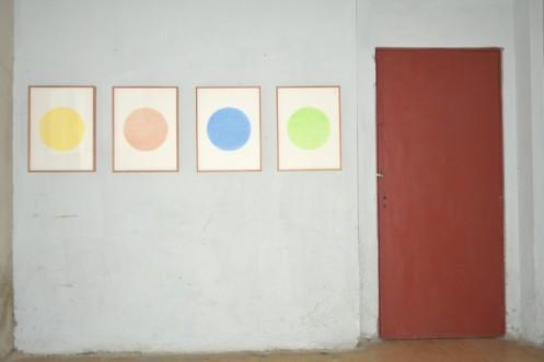 Obras de Rodrigo González Castellanos en exposición Transitante
