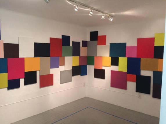 Pintura ArtereA_vista de la exposición