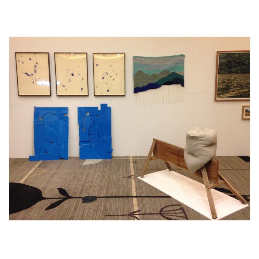 Salón Emergente edición Miami 2016 obras de Rodrigo González Castellanos