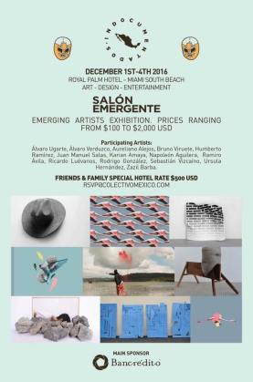 Salón Emergente edición Miami 2016 Póster