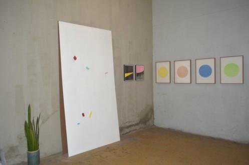 Vista de la exposición Transitante en Guadalajara