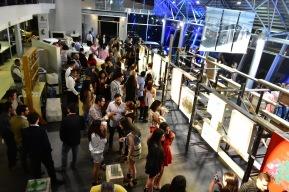 Vista de la exposición Verde Lyme Artshow en Audi Patria
