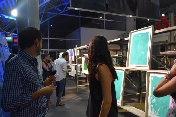 Vista de la obra de Rodrigo González Castellanos para el Verde Lyme Artshow en Audi Patria_1