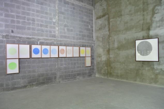 Vista de las obras de Rodrigo González Castellanos para exposición Transitante 2.0 en Vía Cordillera Monterrey_2